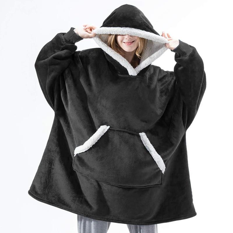 Winter-Hoodie-Women-Hooded-Blanket-Sweatshirt-Fleece-Plush-Hoodie-Warm-Coral-Fleece-TV-Blanket-with-Sleeve.