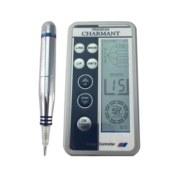 Professional Embroidery Eyebrow Charmant Tattoo Machine Pen for MTS Semi-permanent Makeup Microblading Pen Liner Shader tattoo machine pen rotary gun permanent makeup microblading eyebrow for liner