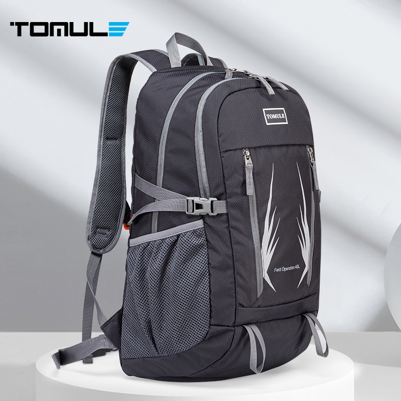 Tomule Waterproof Climbing Hiking Backpack Men Camping Travel Outdoor Bag 40L Breathable Sports Backpack Climbing Cycling bags