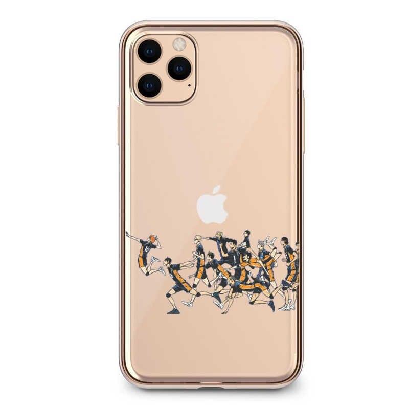 Haikyuu Hinata saldırıları Anime TPU yumuşak TPU silikon telefon kılıfı için iPhone 11 Pro X XS MAX 6 7 8 artı 5 5S XR 2020SE Fundas Coque