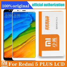 """Original 5.99"""" Display Replacement for XIAOMI REDMI 5 PLUS LCD Touch Screen Digitizer Assembly with Retail Pack"""