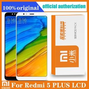 "Image 1 - Originele 5.99 ""Display Vervanging Voor Xiaomi Redmi 5 Plus Lcd Touch Screen Digitizer Vergadering Met Retail Pack"