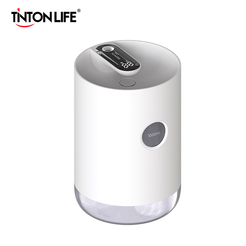 3000mAh Home Air Humidifier 1L Portable Wireless USB Aroma Water Mist Diffuser Led Battery Life Show Therapy Humidificador|Humidifiers| |  - title=