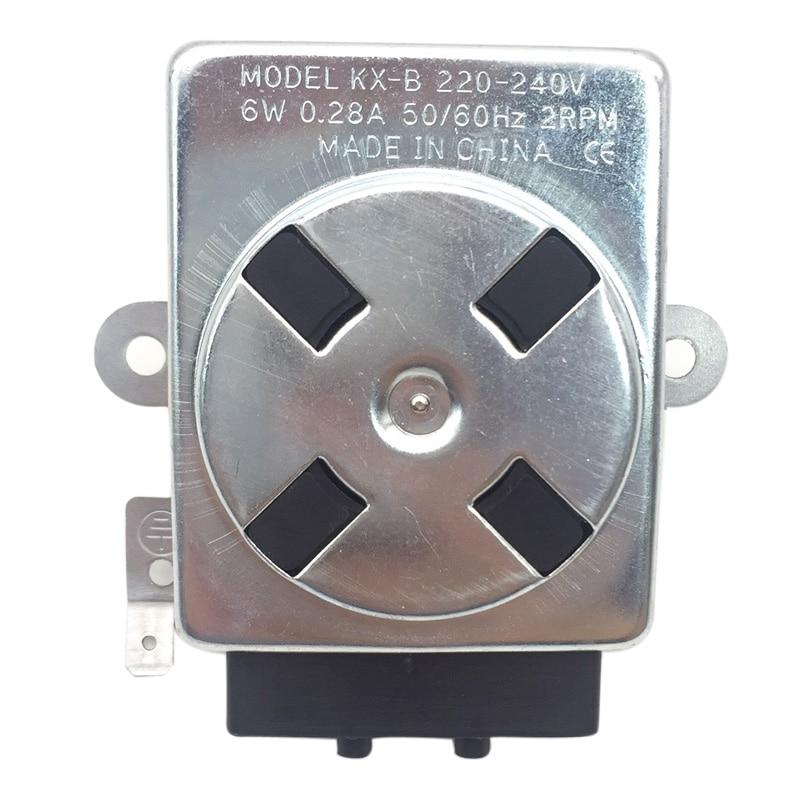 Motor síncrono livre popular da c.a. 220-240 v da grade do forno do bbq da estrela 6 w da terra