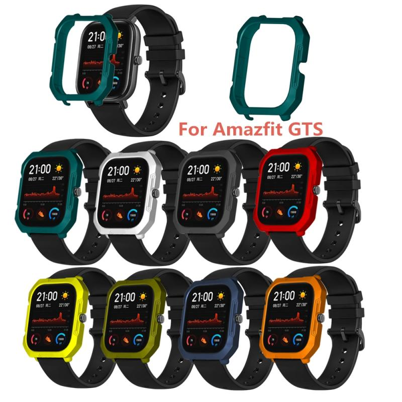 Hard PC Protective Case Cover For AMazfit GTS Smart Watch Screen Protector Shell Fashion Solid Color Comprehensive Protection