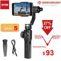 Zhiyun liso 4 Q2 3-eje de Smartphone del cardán estabilizador para iPhone 11 Pro Max XS XR 8X8P 8 Samsung S9 S8 y cámara de acción