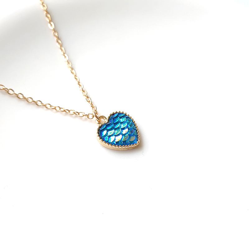 fish scale necklace