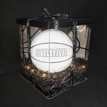 SIRDAR Box Basketball luminous 2020 New Design High quality fashion Luminous Basketball Wholesaler cheap basketball box image