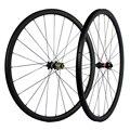 Дисковый тормоз углеродное колесо дорожный велосипед 30 мм глубина UD матовая без тормозная поверхность клинчерная покрышка из углеродного ...