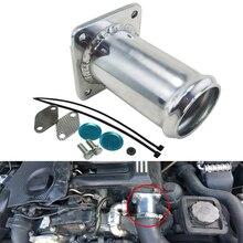 Aluminum Egr Removal Kit for BMW E46 318d 320d 330d 330xd 320cd 318td 320td Delete Kit 6 33mm diesel swirl flap blank repair delete removal kits rubber aluminum tool accessories for bmw previous m57