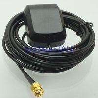 Tüketici Elektroniği'ten Pil Aksesuarları'de DHL/EMS 20 Takım GPS Aktif Anten 1575.42MHZ RP SMA girişi için Araba Anten Alıcısı 3 M  c1