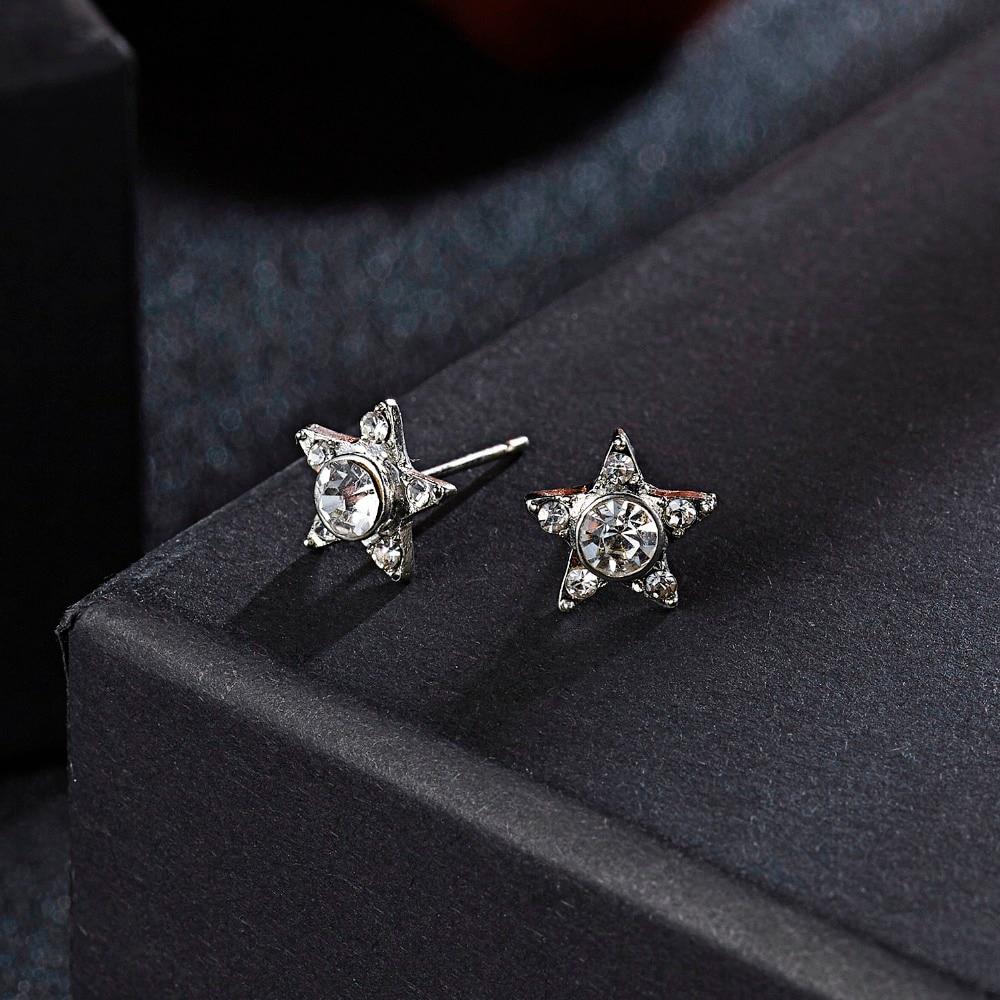12 Pairs/set Stud Earrings Set With Card Transparent Zircon Balls Love Flowers Earrings Women Imulated Pearl Earrings Jewelry 76