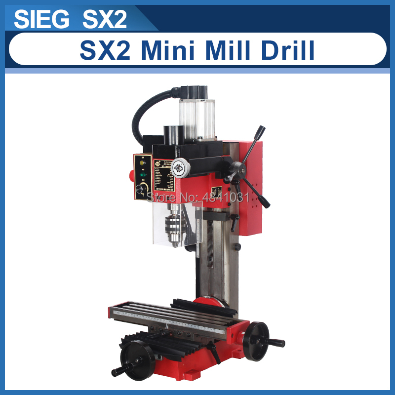 SX2 Mini molino y taladro máquina 220V 500W motor sin escobillas micro Taladro
