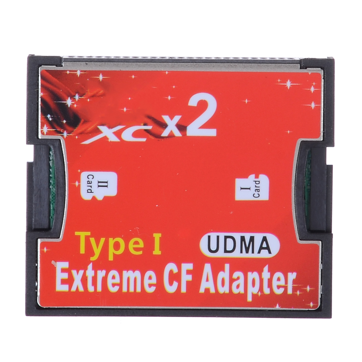 Dual Micro SD SDHC TF To CF Card Adapter Reader MicroSD To Extreme Compact Flash Type I Converter Cardreader