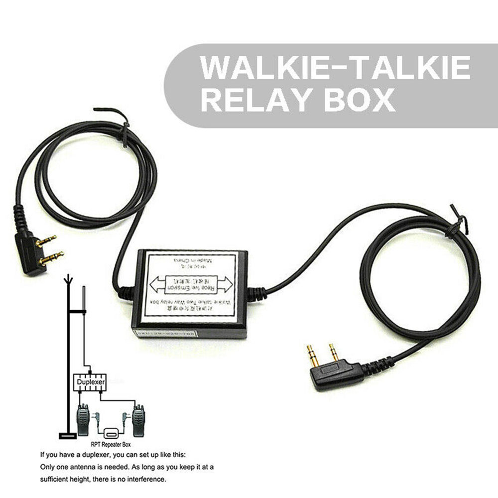 RPT-2K Two-Way Walkie Talkie Repeater Relay Box For UV-5R Retevis H777 Radio Fine Workmanship And Excellent Performance