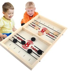 Juego de Hockey 2 en 1 de batalla para niños y adultos juguete para regalo de Navidad, 2020