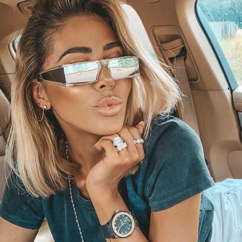 Retro Square Sunglasses Women 2020 Luxury Brand Tempest Mirror Sun Glasses Fashion Vintage Punk Men Sunglass Zonnebril Dames