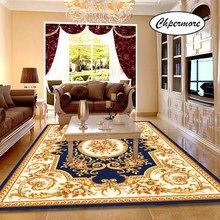 Chpermore Большой Европейский ретро-ковер, Нескользящие коврики с татами для спальни, домашнего пола