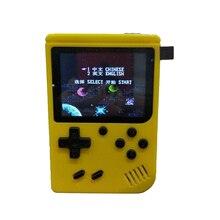 Портативная игровая консоль в стиле ретро для детей/взрослых, 168 классических игр, 8 битные игры, 3 дюймовые видеоигры на экране с av кабелем, воспроизведение по телевизору (