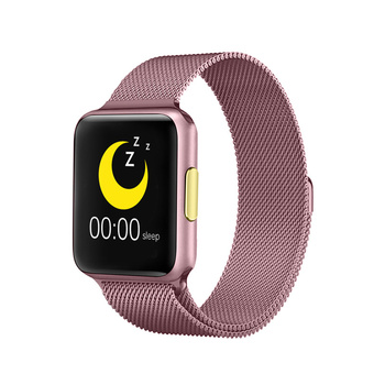 Smartwatch E06 Smart Watch Women P80 ECG Heart Rate Monitor Blood Pressure Health Smart Clock Female for IOS Android PK P80 F10