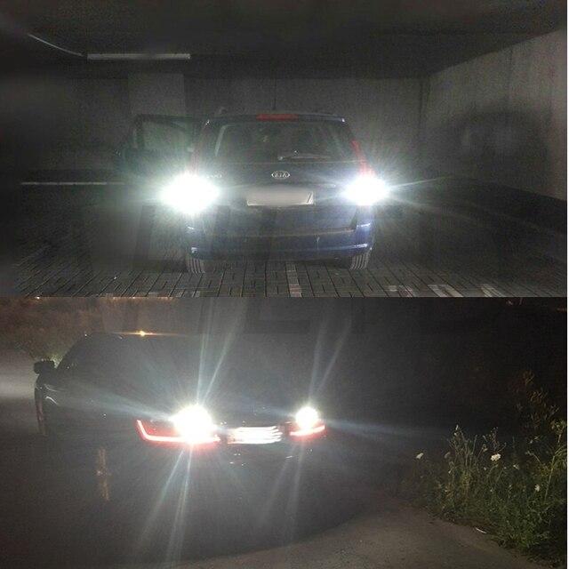 T15 W16W Car Light Auto LED Reverse Light White Bulbs 4014 45SMD 920 921 912 Wedge Canbus LED Backup Parking Light DC 12V