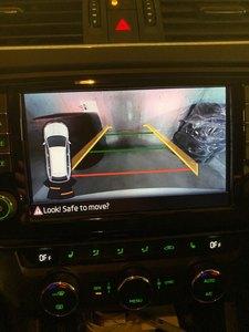 Для Skoda Octavia MK3 skoda superb 3 ручка багажника заднего вида камера с Highline наведения линейный провод жгут