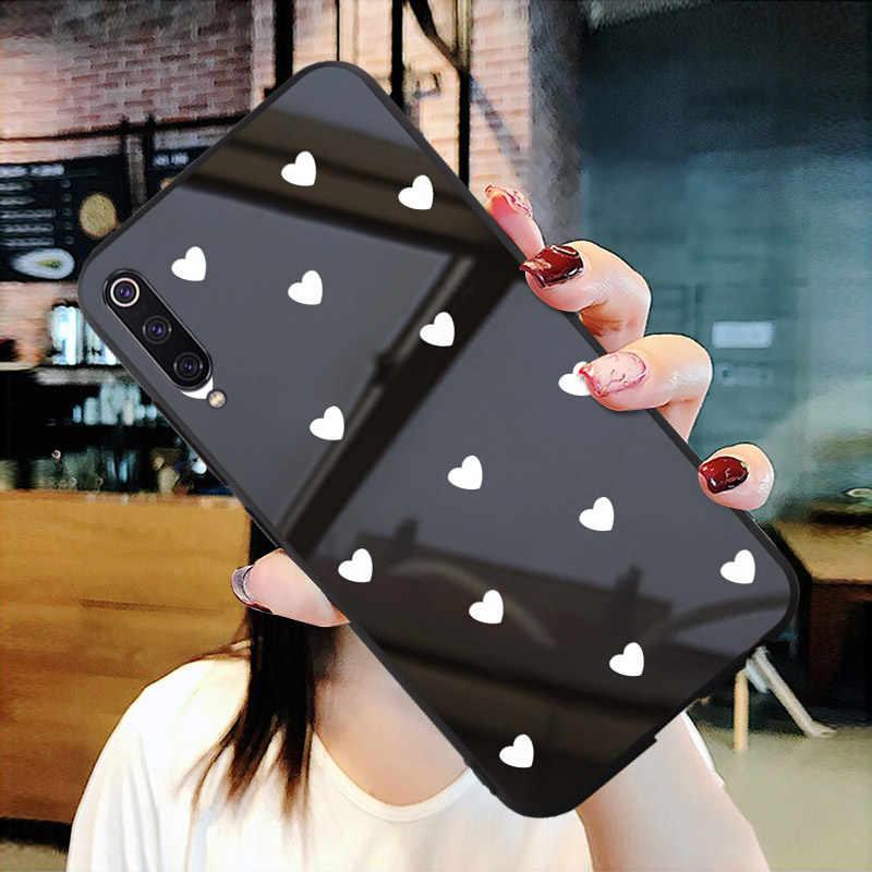 العالمي حقيبة لهاتف xiaomi mi A2 A3 CC9 mi X 2s 3 6 6X8 9 9t 9se برو لايت ملاحظة 10 Pocophone f1 الزجاج شريط للرسغ الغطاء الخلفي