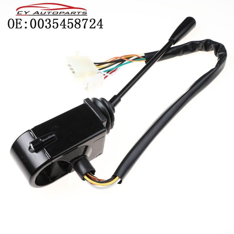 Nova haste do interruptor indicador da coluna de direção para o trator mercedes trac unimog 0035458724 a0035458724