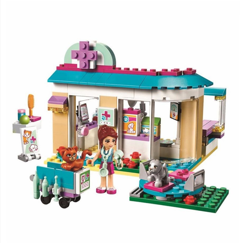 New Girl Friends Heartlake City Riding Club Horse Stables Block Set Mia Stephanie Building Block Toy With Legoinglys 41126