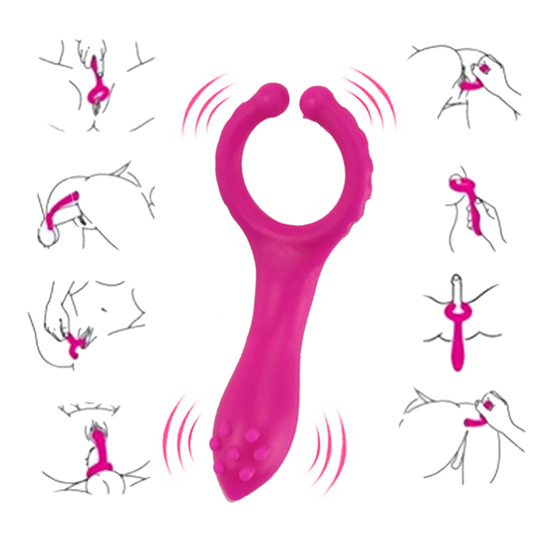Silicone Mini G Spot Big Vibrator Sex Toys For Women Men Couple Masturbator Multi Used Butt Plug Massage Vibration Bondage Toys
