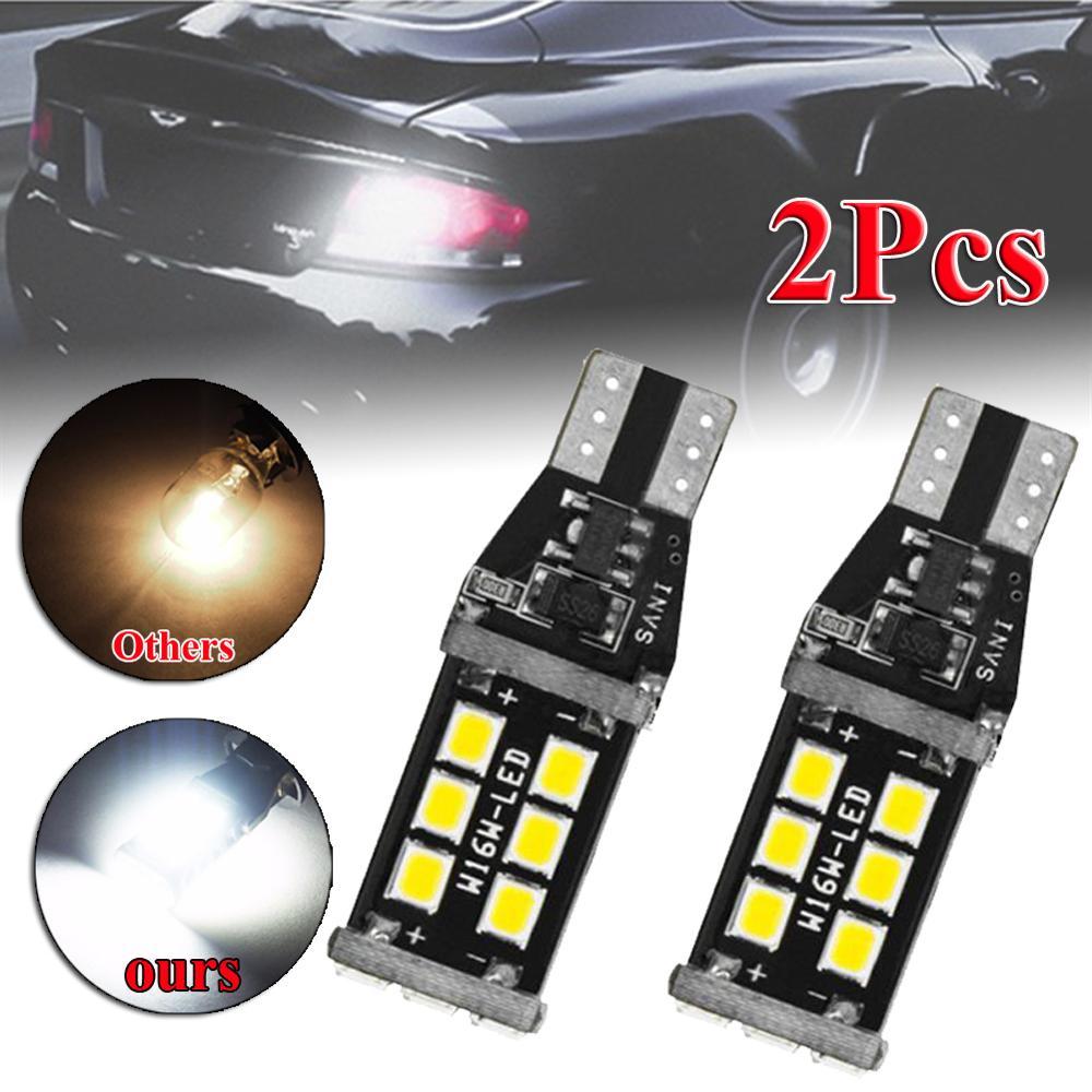 912 921 T15 W16W супер-яркий белый светодиодный резервный автомобильный светильник, лампа тормоза двигателя, дневные ходовые огни, светильник s Бе...