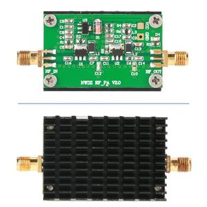 Image 1 - 2 MHz 700 MHZ 3W HF VHF UHF FM transmetteur haut débit RF amplificateur de puissance pour Radio 35dB Gain amplificateur Audio professionnel