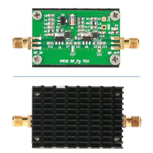 2 MHz 700 MHZ 3W HF VHF UHF FM transmetteur haut débit RF amplificateur de puissance pour Radio 35dB Gain amplificateur Audio professionnel