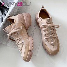 ANNYMOLI Spring Flats Sneakers Women Shoes