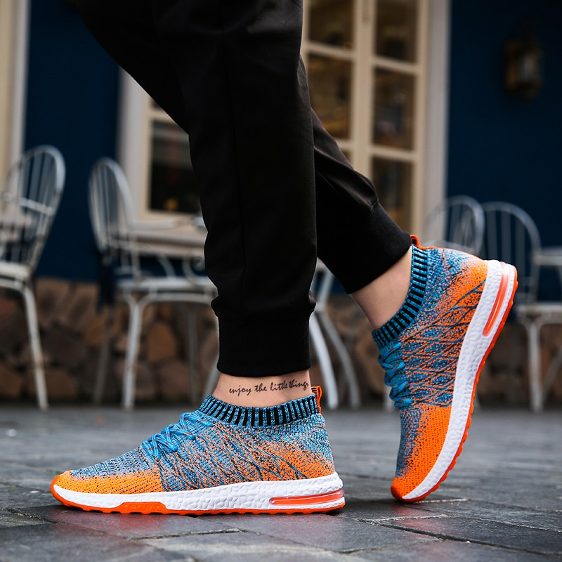 Men Sneakers Breathable Mesh Men Shoes 2020 Men Casual Shoes Light Walking Shoes Trainers Casual Sneaker Men Chaussure Homme