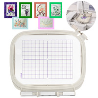 Domestic sewing Parts Embroidery hoop set sewing hoop frame Memory Craft Bernina MC 300E 350E 9500 9700 Embroidery Machine