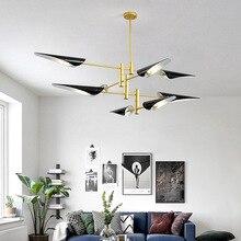 Nordic LED post-modern hanging lights creative Fixtures Novelty living room LOFT chandelier bedroom restaurant chandeliers Lamps все цены
