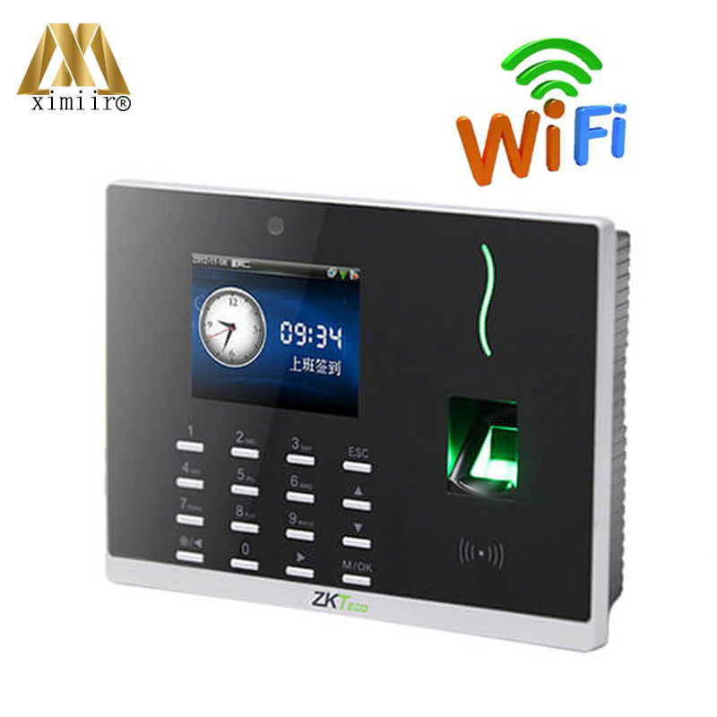 High Quality ZK Fingerprint Time Atttendance Machine With WIFI, 3G, ADMS Function Time Recording CS800
