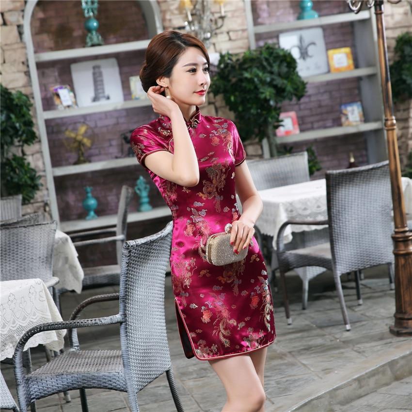 New Design Women Vintage Chinese Traditional Cheongsams Wedding Party Sexy Elegant Bodycon Dress Qipao Split Dresses For Women