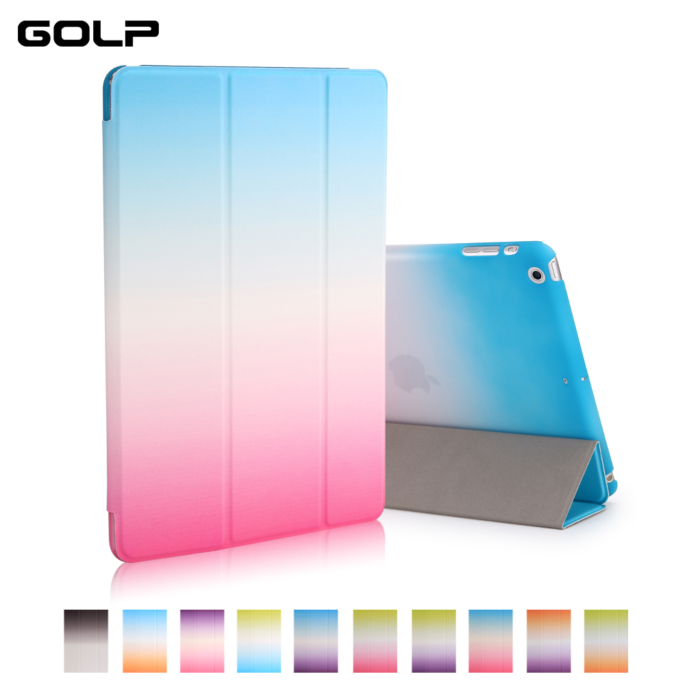 For Ipad Mini Case, GOLP Painted Pattern PU Leather Magnetic Flip Case For Ipad Mini