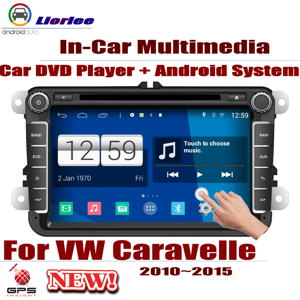 Für Volkswagen <font><b>VW</b></font> Caravelle 2010 ~ 2015 Auto Android-Player DVD GPS Navigation System HD Bildschirm Radio Stereo Integrierte Multimedia image