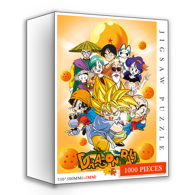 Dragon Customized Ball DIY Jigsaw Puzzles 1000 Pieces Wooden Quality Puzzle Toys Adults Japan Cartoon Anime 1000 Pieces Puzzles 9