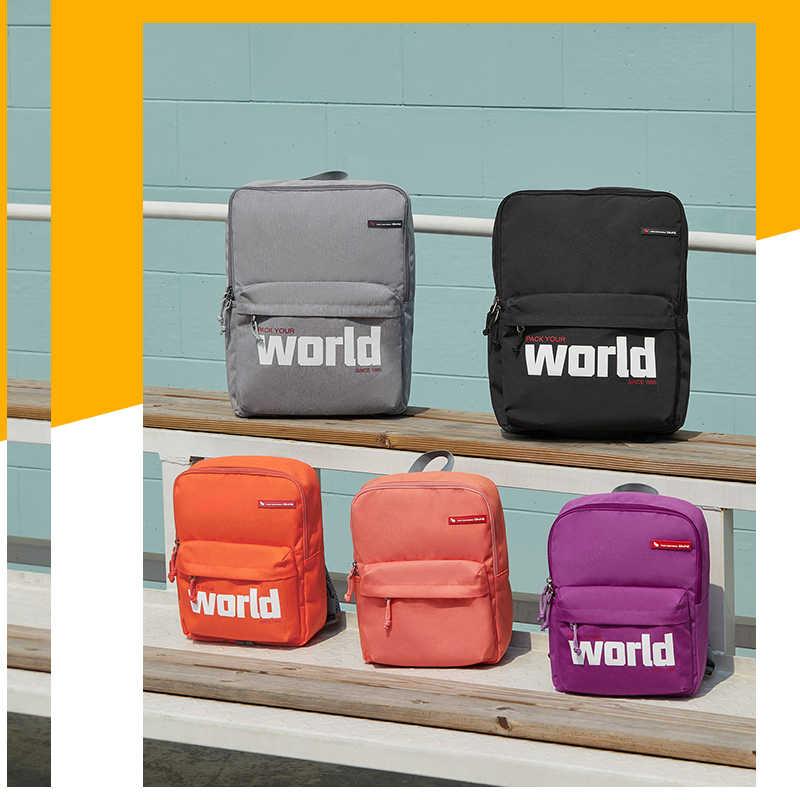 Mochila de cuero para hombres y mujeres, bolsos de escuela secundaria para estudiantes universitarios, para adolescentes, niños y niñas, mochilas de viaje para ordenador portátil