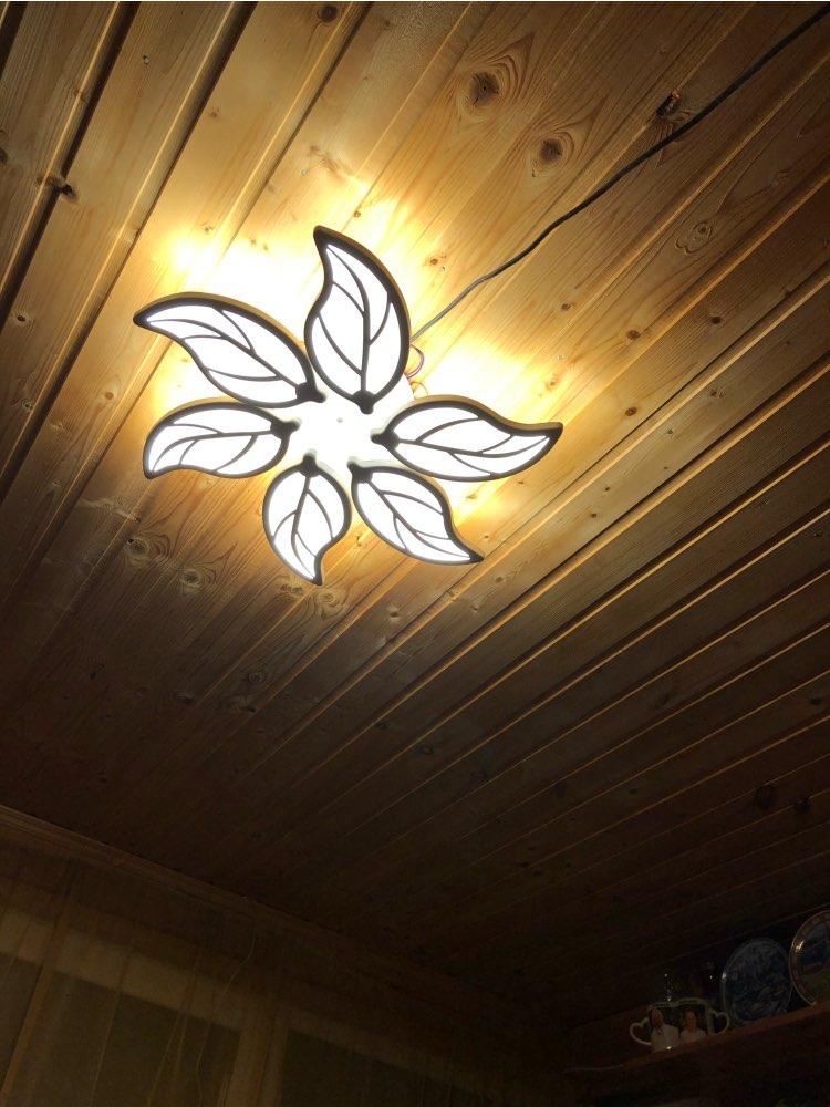 H3cb72442bf5c4d5489c0c22d2e7cd495h Special discount 6 heads  New Design Acrylic Modern Led Ceiling Lights lampe plafond avize Indoor 4 shapes 100-240V