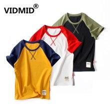 VIDMID baby boys t-shirts clothing Car print Kids t-shirt tees Summer Tops kids children's