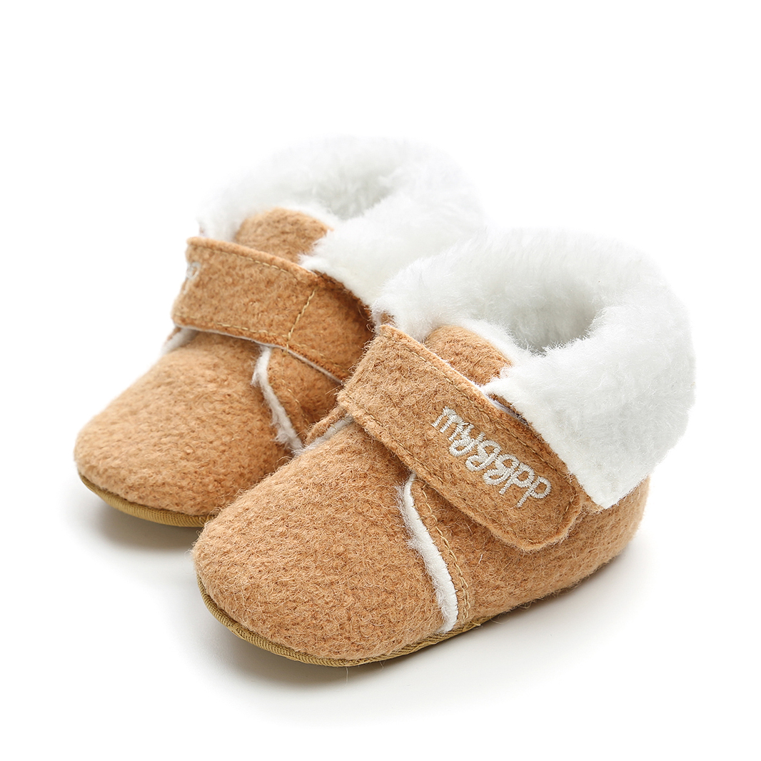 Winter Warm Snow Baby Girls Boys Boots 2019 Newborn Baby First Walkers Sneaker Toddler Infant Soft Sole Shoes Booties