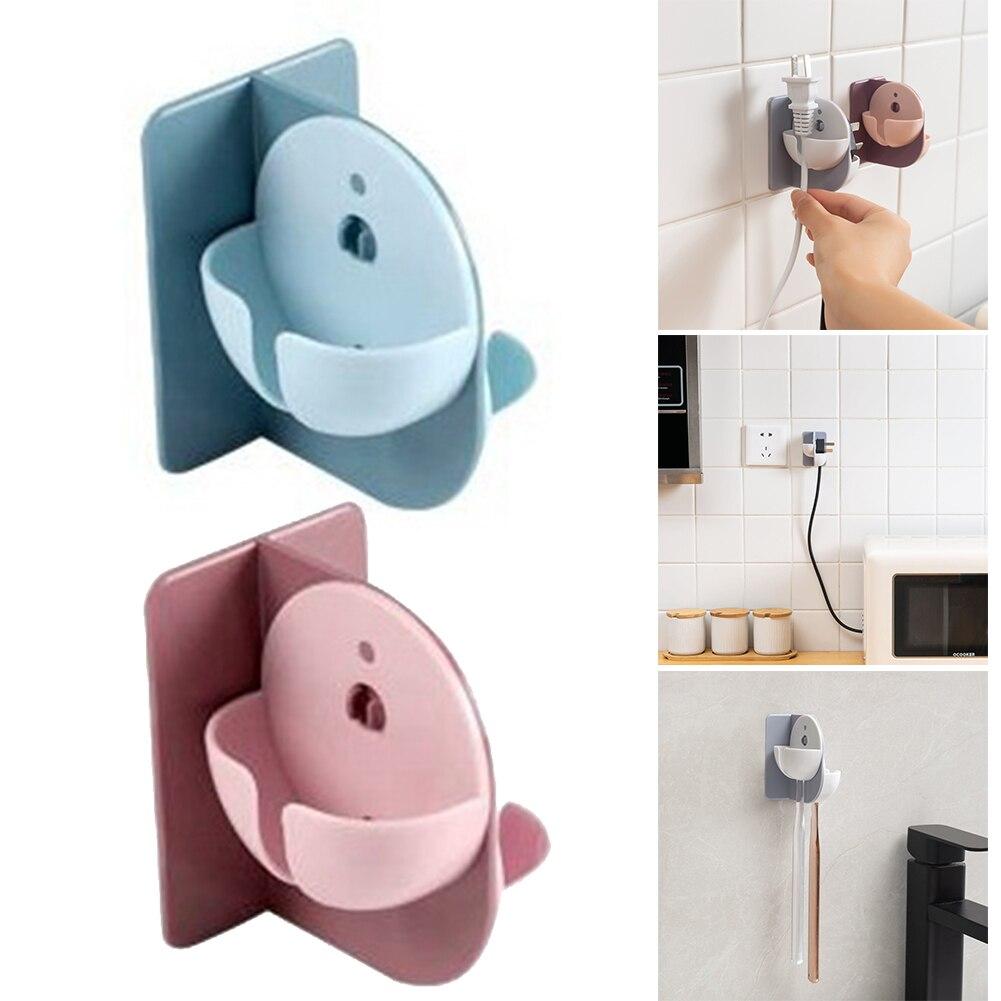Кухня отверстие свободный шнур питания plug hook многофункциональная
