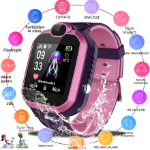 LIGE New Waterproof Smart Watch Children LBS Base Station Positioning Watches Children's Smart Watch Video Call Kid smartwatch(China)