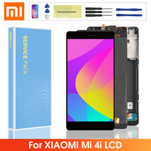 Original LCD For Xiaomi Mi 4i M4i Mi4i LCD Display + Touch Screen Digitizer Assembly with Frame Replacment For Xiaomi mi4i lcd 5 0 inch touch screen for xiaomi mi4i touch screen for xiaomi mi4i mi 4i touch screen smart phone