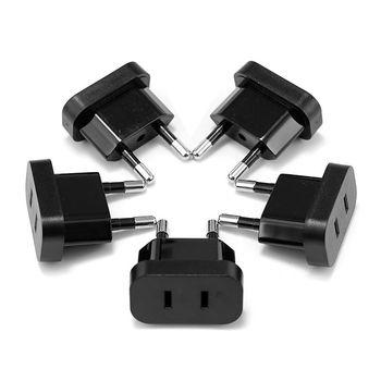 EU Plug US to EU Plug Adapter Electrical Converter Sockets US China Travel Adapter EU AC Charger Outlet Wall Socket homegeek eu plug